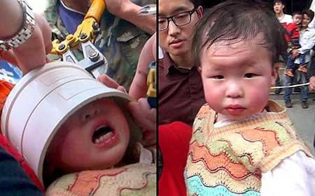 تصاویر دیدنی,تصاویر جالب, دختر بچه چینی