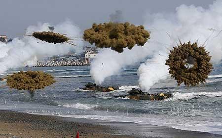 عکسهای جالب,تصاویر دیدنی,مانور نظامی