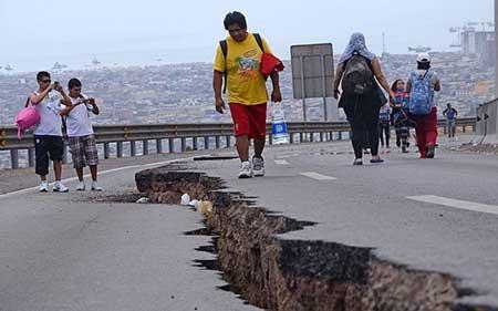 عکسهای جالب,تصاویر جالب,زلزله شدید