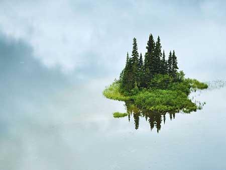 عکسهای جالب,تصاویر دیدنی,جزیره کوچک