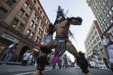 تصاویر دیدنی,تصاویر جالب,رقص بومی