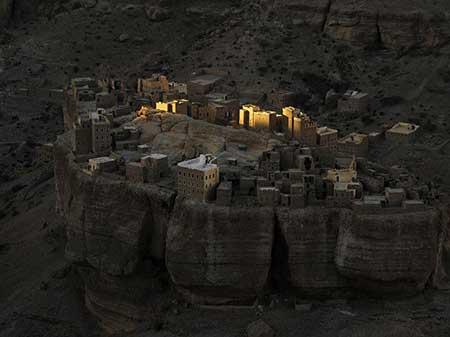 عکسهای جالب,تصاویر دیدنی,روستای تاریخی