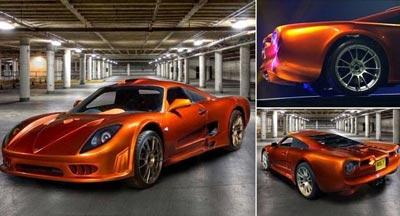 آیا این تصویرسریعترین اتومبیل جهان با سرعت 547 کیلومتر بر ساعت است؟