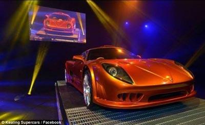 سریعترین اتومبیل جهان ,اتومبیل کیتینگ بولت