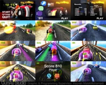 دانلود بازی ایرانی جدل بر روی سرعت برای اندروید Deal for Speed V1.1