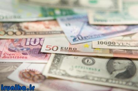 نرخ روز ارز در بازار ایران و بانک مرکزی (تاریخ: 1394/05/15)