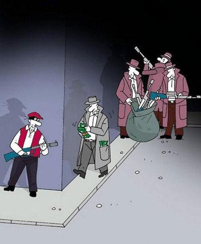 کاریکاتور های مفهومی و پر معنا