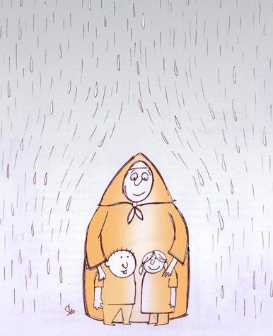 کاریکاتور روز زن, تصاویر خنده دار, عکس تبریک روز زن