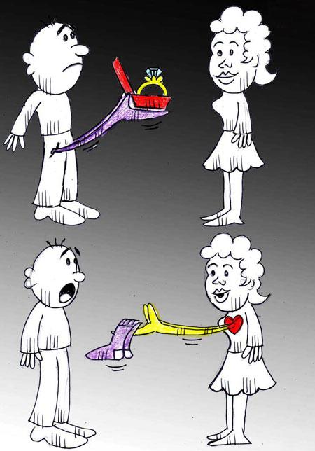 کاریکاتور روز زن و مادر