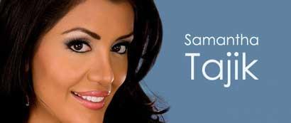 سامانتا تاجیک مدل و مانکن ایرانی و کانادایی +عکس