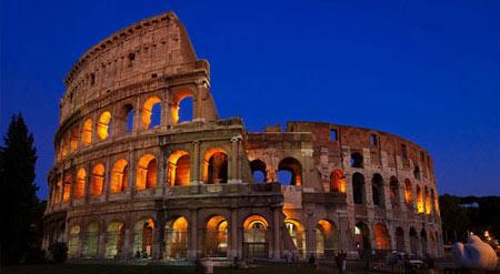کولوسئوم در رم,عجایب هفتگانه دنیا