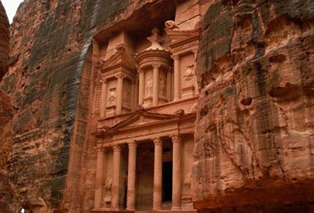 شهر تاریخی پترا,عجایب هفت گانه دنیا