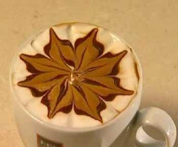 آموزش تزیین قهوه به زیباترین شکل(تصویری)