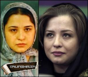 عکس قبل و بعد از مشهور شدن بازیگران زن ایرانی + حتماً ببینید